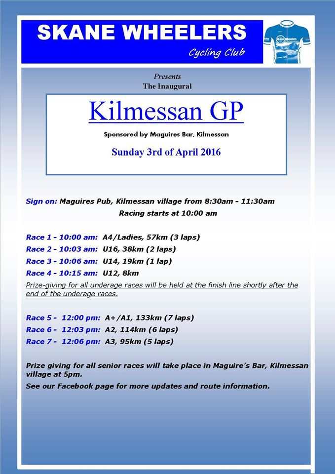 kilmess gp 2016