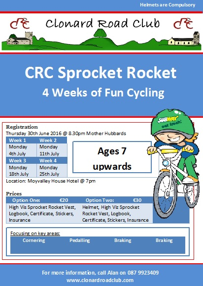 Sprocket Rocket 4 july 16