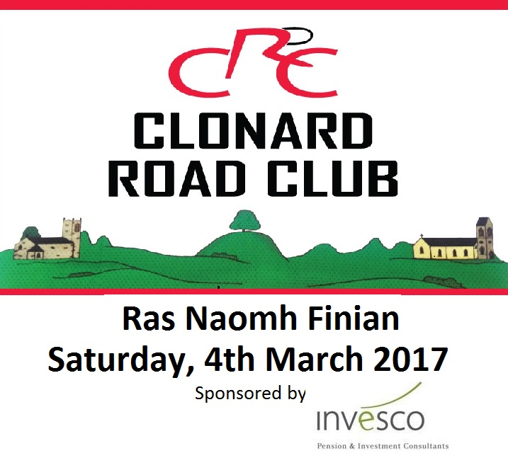 Clonard Road Club Ras Na Finian - Sponsored by Invesco