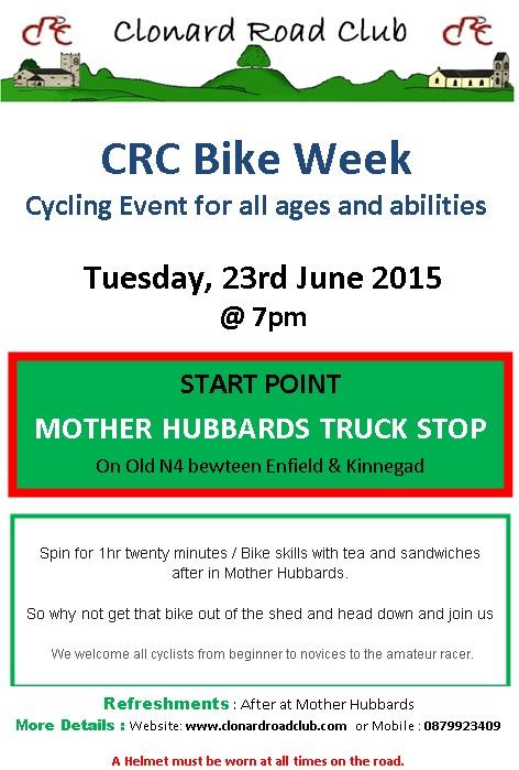 CRC bike week 23 June 15