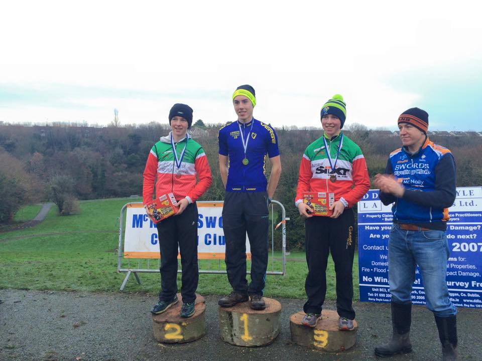 The Leinster Cyclocross Championships 6th dec 2015 Swords